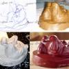 Уточки-мандаринки (этапы работы над статуэткой)