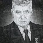 Мужской портрет с медалью