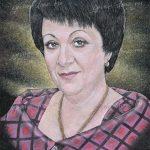 Цветной граверный портрет